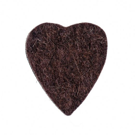 Felt Tones Heart Brown Wool Felt 1 Pick